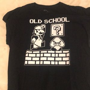 Old School Super Mario T-shirt